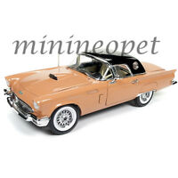 AUTOWORLD AMM1098 60TH ANNIVERSARY EDITION 1957 FORD THUNDERBIRD 1/18 ORANGE
