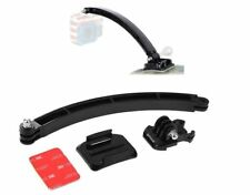 Helmet Extension Mount Kit for GoPro HERO 6 HERO 5, 4, 3+ HD +Adhesive Sticker