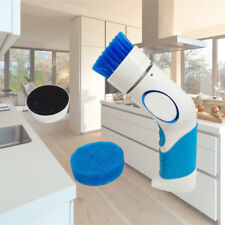 Home Kitchen Pots Pans Bath Cleaning Brush Electric Handy Power Scrubber Cleaner
