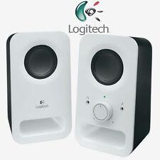 Logitech Z150 Digital - 2.0 Lautsprecher / Speaker - Für PC - Stereo - WEISS