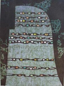 Toshi Yoshida - Transcendence - An original signed color woodcut from 1968.