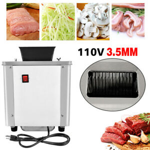 110v Commercial Electric Meat Slicing Shredding Cutting Machine Cutter Slicers