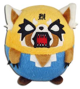 **Legit** Aggretsuko Authentic Anime Ball Plush Death Metal Rage Retsuko #56500