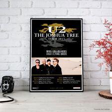 U2 - The Joshua Tree Tour 2017 (Europe Tour) FINE ART PRINT POSTER