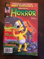 Simpsons Treehouse Of Horror 8 Bongo 2002 VF Halloween Bart Jill Thompson