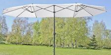 Sonnenschirm Sonnenschutz Gartenschirm großer Doppelsonnenschirm 4 65 breit mit