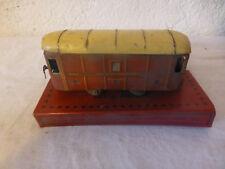 ancien jouet tole JEP Unis France train wagon postes telegraphes vintage boite