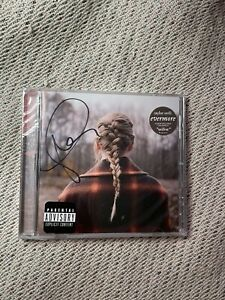 Taylor Swift signed evermore