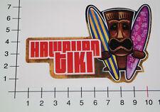 Hawaiian tiki autocollant sticker racing rockabilly old school v8 tuning DUB mi045
