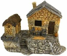 Fairy House with Tool Shed,Miniature Fairy Garden,610395041634,resin