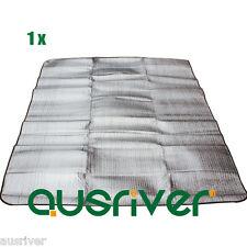 Travel Outdoor Camping Picnic Sleeping Mattress Pad Waterproof Aluminum Foil Mat