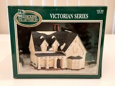 Dickens Collectables Victorian Series,  Victorian House In Box Light