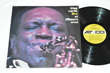 KING CURTIS Live at Fillmore West LP 1971 Atco Records Canada SD-33-359 VG Jazz
