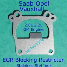 EGR Valve Restricter Plate Vauxhall Opel 2.0 2.2 DTi Vectra Zafira Astra Signum