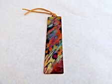 Bookmark for Books – Copper - Flame Painted – Unique Gift #17