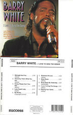 SOUL Barry White I love to sing the songs CD 1991