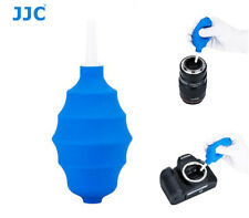JJC Blue Rubber Air Blower Pump Dust Cleaner for Camera/Lens/Keyboard/Computer