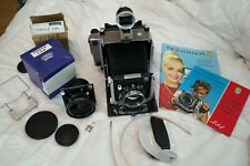 Stunning Linhof Technika V Large Format Camera with Two Lenses and Matched Cams