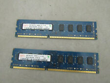 2 x 4GB 8GB Pairs of DDR3 Memory Ram Untested Lots of Two