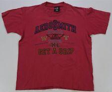 Rare Vintage GIANT Aerosmith Get A Grip World Tour 1993 T Shirt 90s Rock Band L