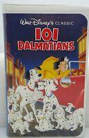 101 Dalmatians VHS 1992 Clamshell Walt Disney's Classic TESTED