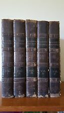The Chronicles of Enguerrand de Montrelet - Johnes, Hafod 1809 5 Volume Set