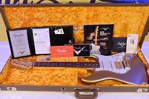 Fender Custom Shop Stratocaster 1962 Relic HSS 2018 Aztec Gold EVH bridge 2018