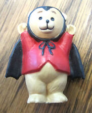 Hallmark Merry Miniatures 1993 Teddy Bear In A Bat Costume