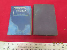 (2) Books Experimental Wireless & Concise Physics B-0305-3