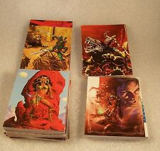 WARLORD OF MARS      Complete Trading Card Set     FANTASY ART