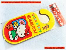 🚪 RARE SANRIO Hello KITTY Vintage 1994 Segnaporta Door Hanger TOKIO JAPAN *NEW*