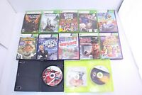 XBOX 360 Lot Of 13 Video Games Different Titles Mixed Genre