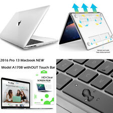 """3in 1 Ultra-Clear Crystal Hard Case&Clear Keyboard+LCD For Macbook Pro 13""""A1708"""