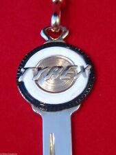 CHRYSLER TYREX TIRES Crest KEY for MOPAR 1956-67 300 Oil Gas Imperial New Yorker