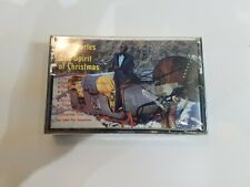 Ray Charles The Spirit of Christmas Cassette Tape Columbia Records 1985 (Rare)