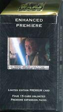 Star Wars CCG Enhanced Premiere Sealed Deck Obi-Wan With Lightsaber
