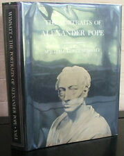 The Portraits of Alexander Pope. by W.K. Wimsatt - 1st in DJ 1965