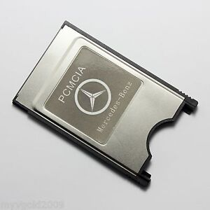 CompactFlash CF Card to PC Adapter For Mercedes Benz PCMCIA Command System
