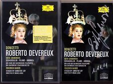 DVD Edita GRUBEROVA Signiert DONIZETTI ROBERTO DEVEREUX Friedrich HAIDER Aronica