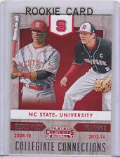 RUSSELL WILSON & TREA TURNER Dual NC STATE ROOKIE CARD Baseball NCAA COLLEGE RC!