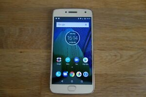 Motorola Moto G5 Plus (XT1684) - 32GB - Unlocked.