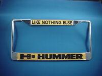 H3 HUMMER License Plate Frame