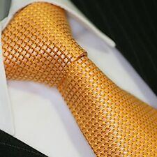 BINDER de LUXE KRAWATTE tie slips corbata cravatte Dassen krawat 529 Gold
