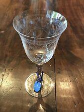 Wedgwood Floral Garland Large Crystal Wine Glass Wijnglas Kristal Gegraveerd