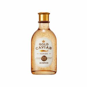 [SKINFOOD] Gold Caviar EX Toner - 145ml / Free Gift