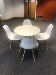 IKEA Round Table And 4 Chairs