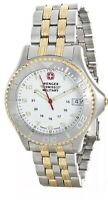 Wenger Swiss Military Date Stainless Steel Gold & Silver Tone Men's Watch 79082