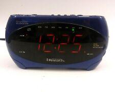 Emerson Research Blue SmartSet Digital Dual Alarm Am/Fm Clock Radio