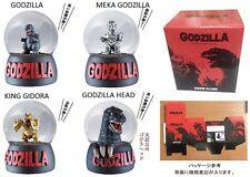 SNOW GLOBE GODZILLA  TOHO CINEMA JAPAN LIMITED GODZILLA HEAD RARE