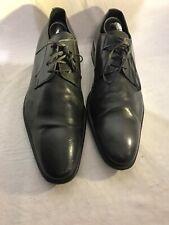 Ted Baker almhano Homme Noir Richelieu à chaussures à lacets en cuir formelle Smarts